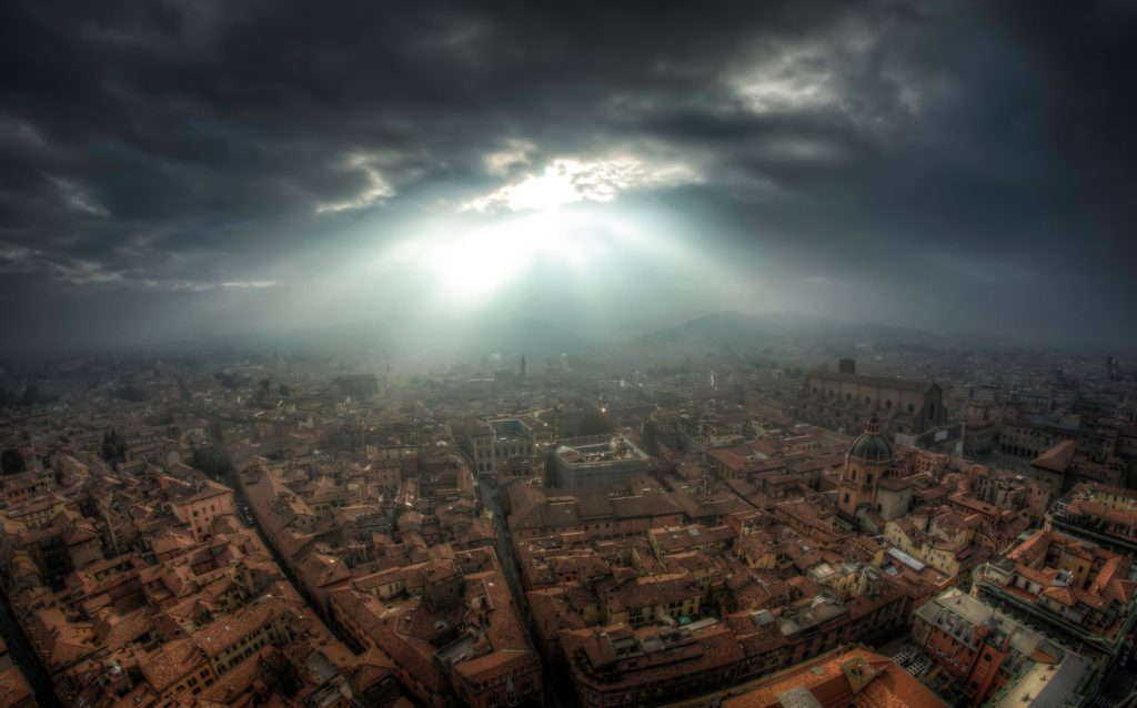 image of aerial view of Florence
