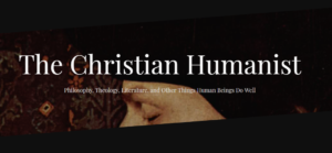 image of the christian humanist homescreen