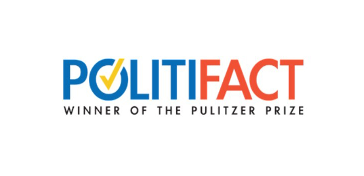 Logo of Politifact, Winner of the Puliter Prize