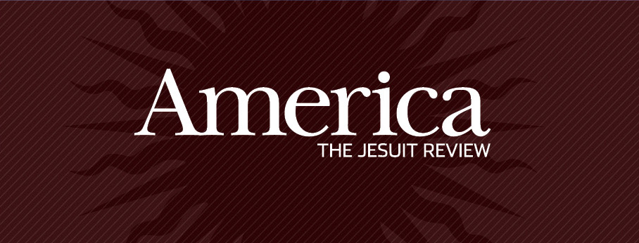 logo for America Magazine via Facebook homepage
