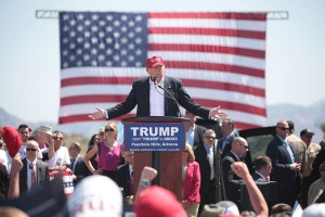 Donald Trump at Rally, Wikimedia Commons by Gage Skidmore