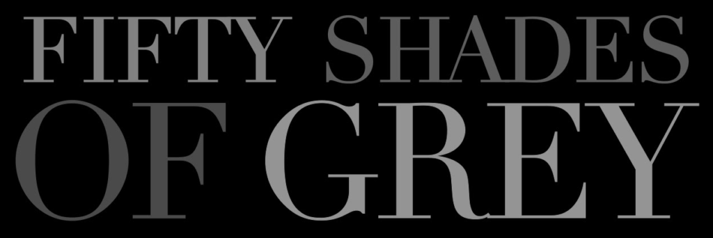 image of 50 shades of grey film logo