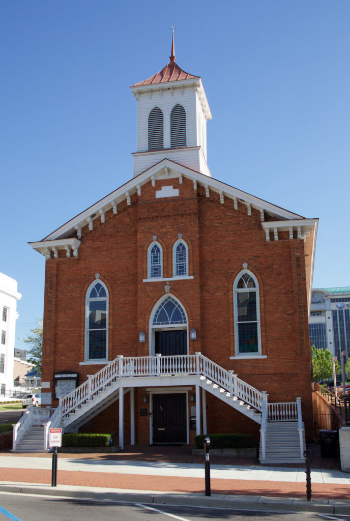 Dexter Baptist Ave Church, Montgomery, Alabama.