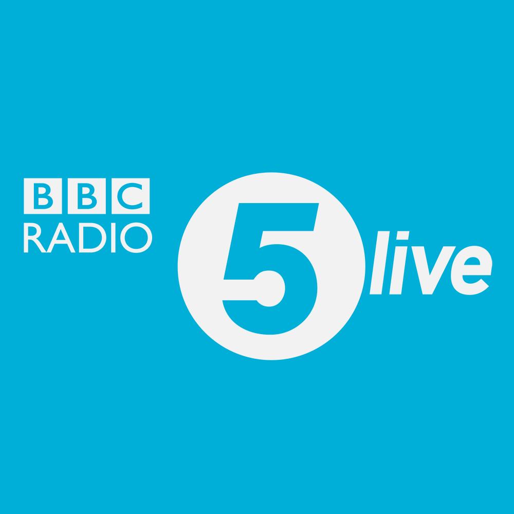 logo for bbc radio 5 live