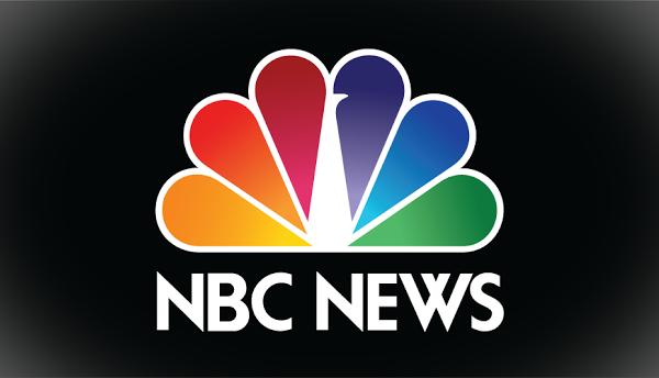 nbc news logo on black background