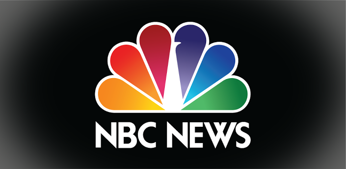 nbc news logo on black background