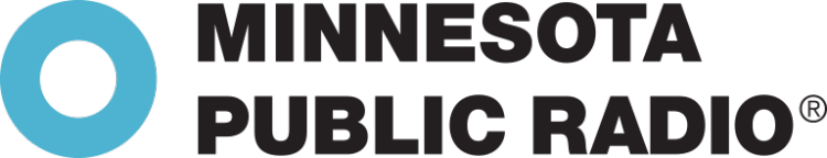 minnesota public radio logo, black text on white background