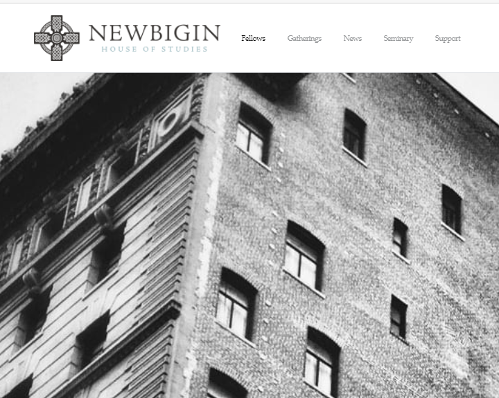 Newbigin House of Studies: The Newbigin Fellowship