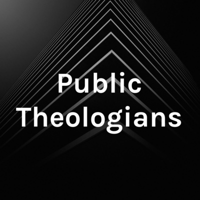 logo for public theologians podcast