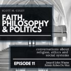 scott M. Coley's Faith, Philosophy and Politics logo