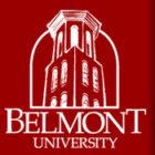 Logo for belmont university (red)