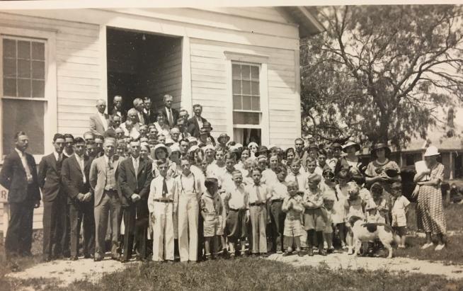 An Ordinary Preaching Woman in a Texas Baptist Church, c. 1930