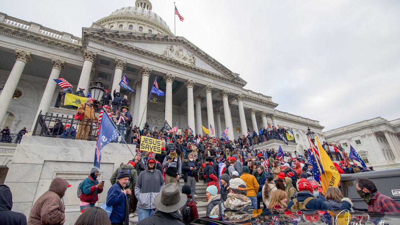 """""""Jesus Saves"""": Fragments on the Storming of the Capitol"""