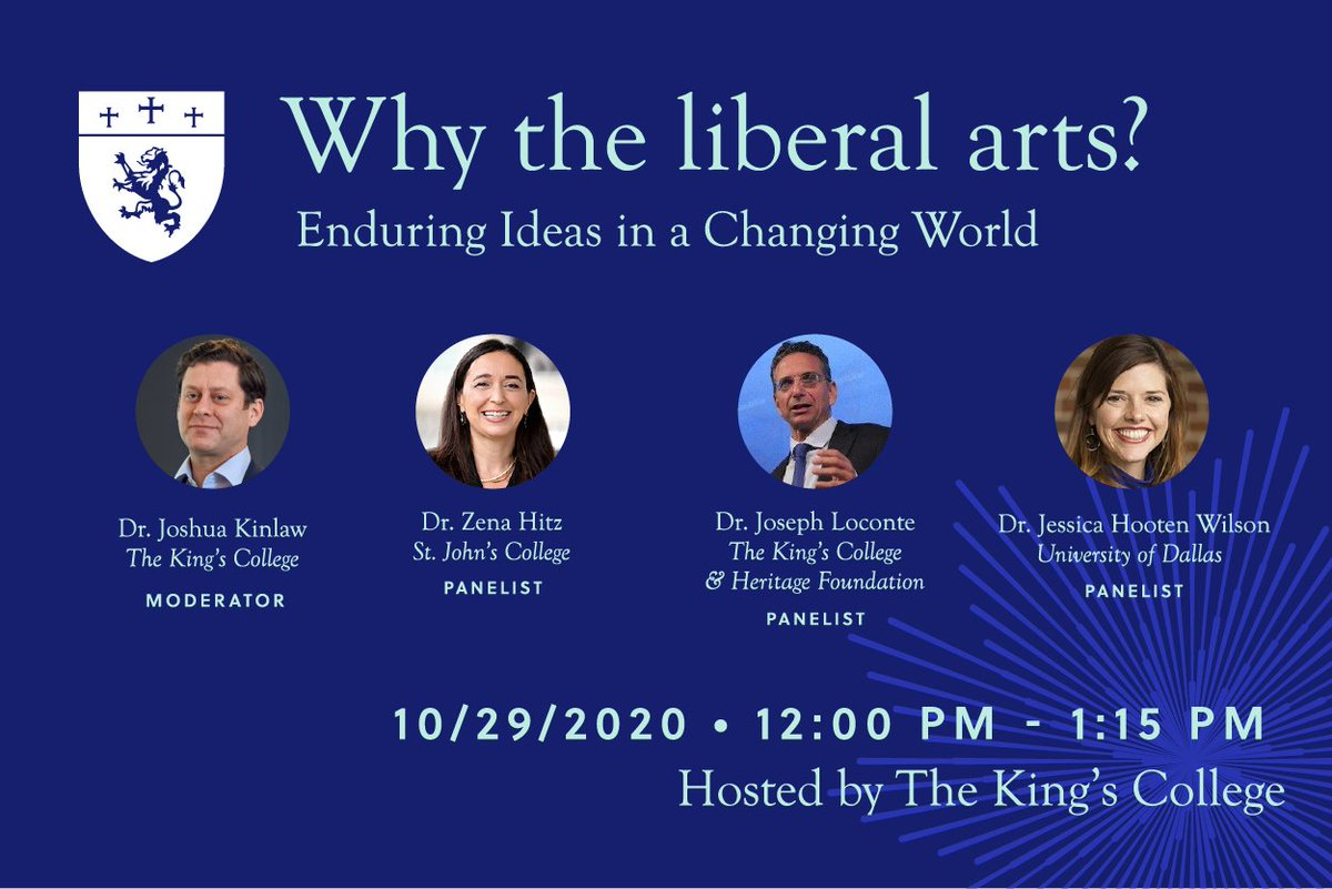 Why the Liberal Arts? Enduring Ideas in a Changing World